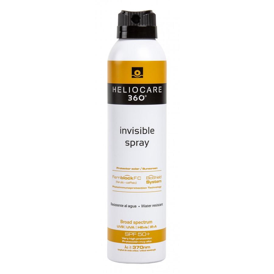 Солнцезащитный Спрей Невидимка с SPF 50+ 360 Invisible Spray SPF 50+ Heliocare Испания 200 мл(р) — фото №1