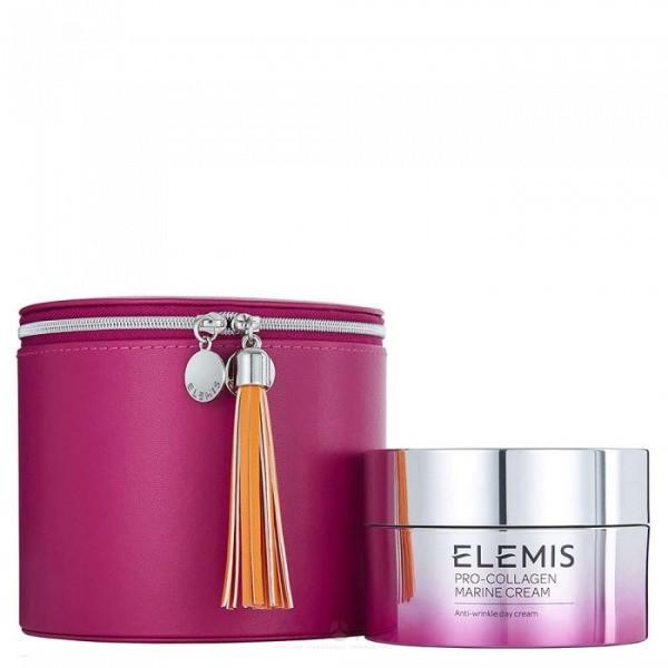 Крем pro-collagen marine косметичка розовая 1021 Elemis Англия — фото №1