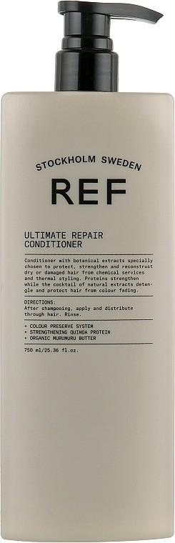 Шампунь восстанавливающий Ultimate Repair Shampoo REF Швеция 750 мл(р) — фото №1
