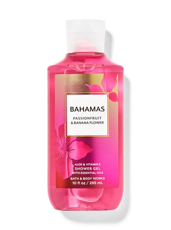 Гель для душа Bahamas Passionfruit & Banana Flower Bath & Body Works USA 295 мл(р) — фото №1
