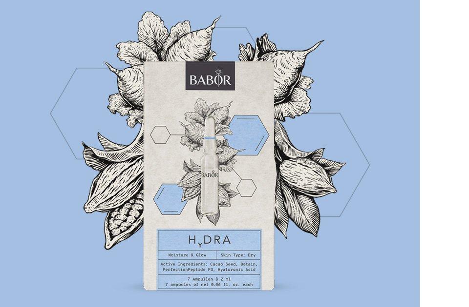 Ампулы набор Увлажнение Hydra Babor Германия 1 уп(р) — фото №1