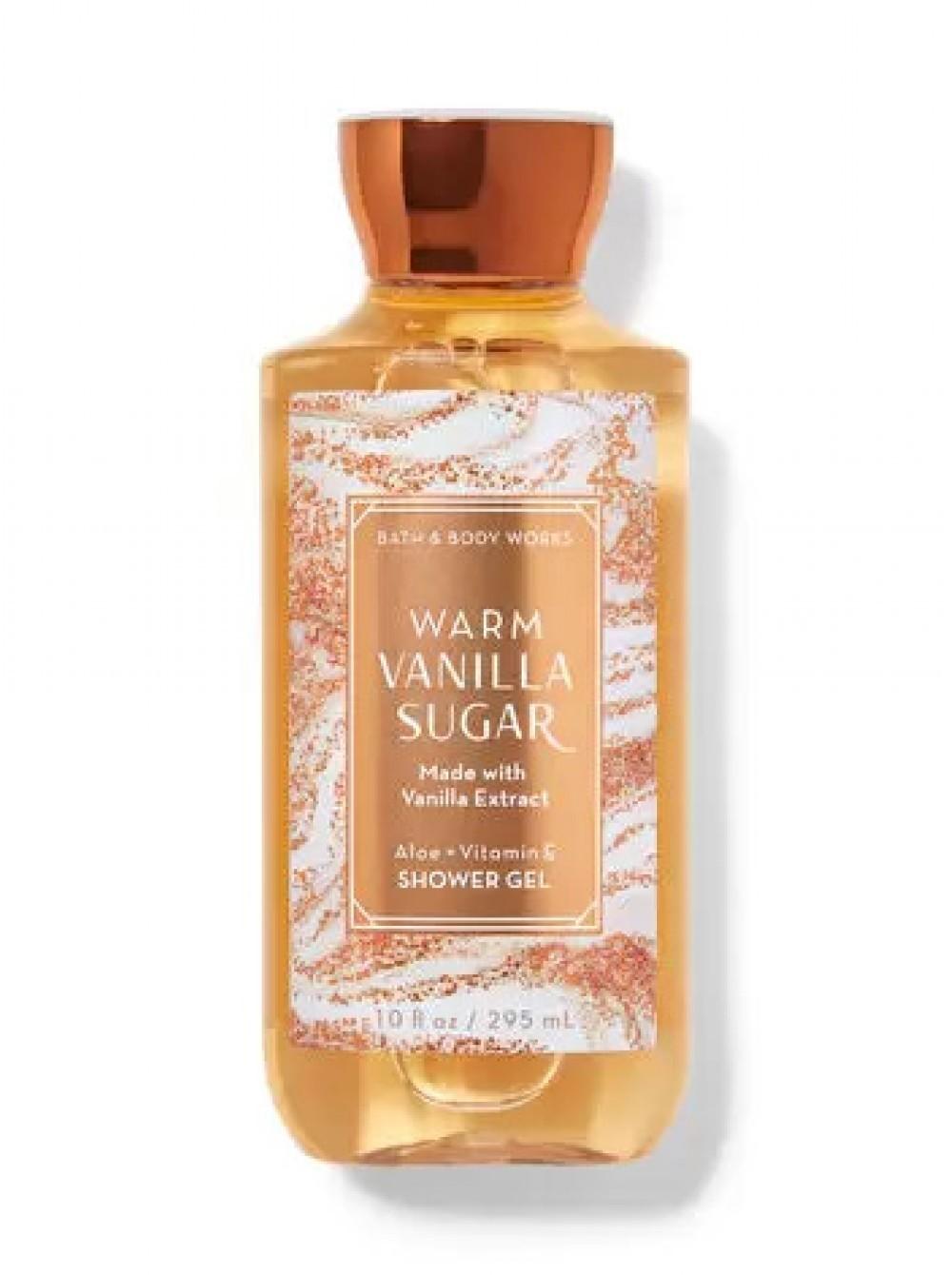 Гель для душа Warm Vanilla Sugar Bath & Body Works USA 295 мл(р) — фото №1