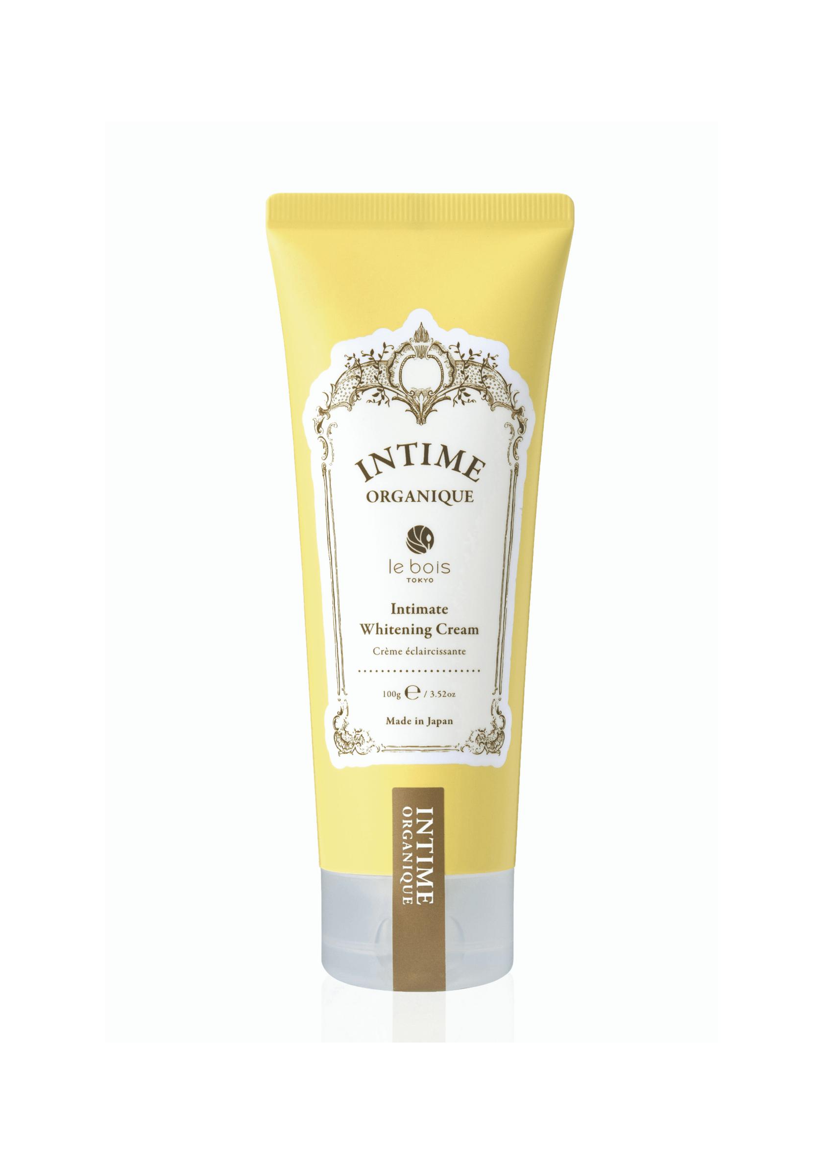 Осветляющий крем для деликатных зон без запаха Whitening Cream FF Intime Organique Япония 100 г(р) — фото №1