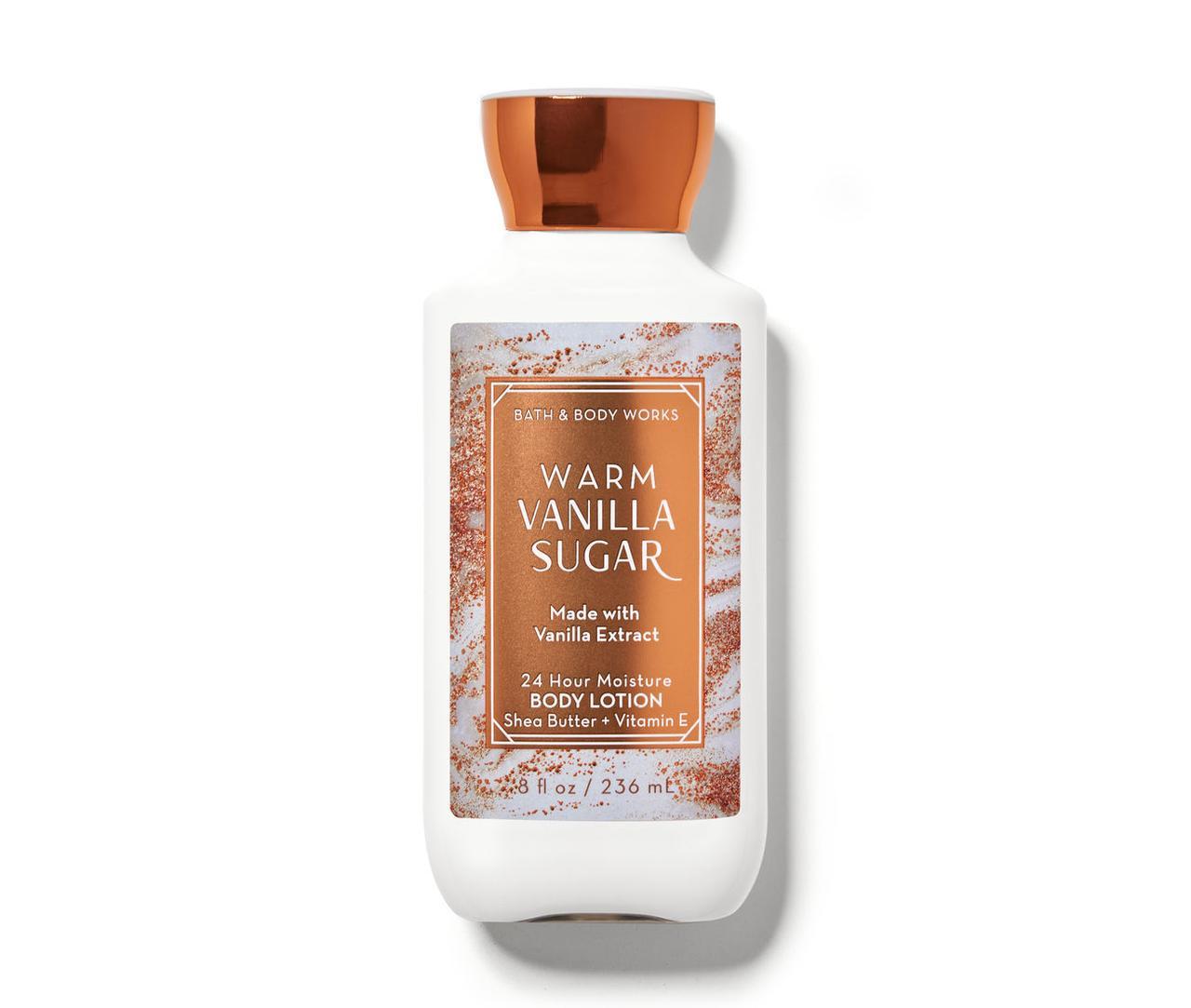 Лосьон для тела Warm Vanilla Sugar Bath & Body Works USA 236 мл(р) — фото №1