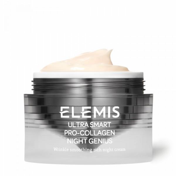 Крем Ночной Гений ULTRA SMART Pro-Collagen Night Genius Elemis Англия 50 мл(р) — фото №1