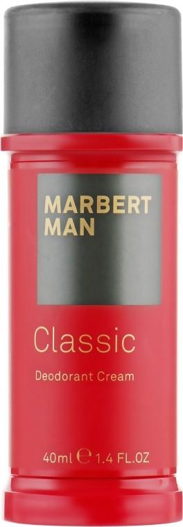 Дезодорант-крем Man Classic Deodorant Cream Marbert Германия 40 мл(р) — фото №1