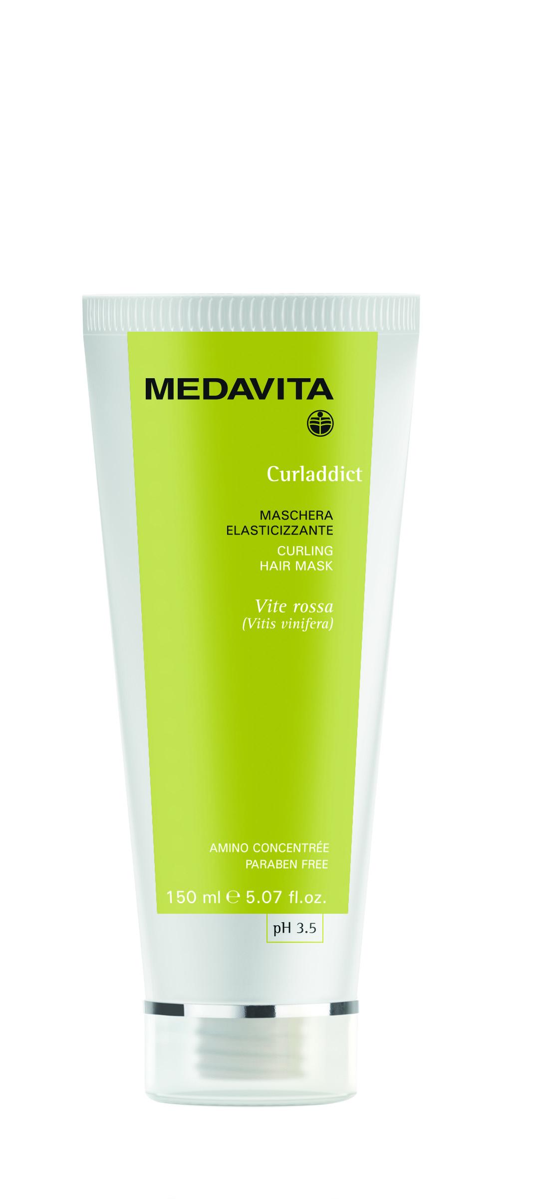 Маска Curladdict для упругости волос Medavita Италия 150 мл(р) — фото №1