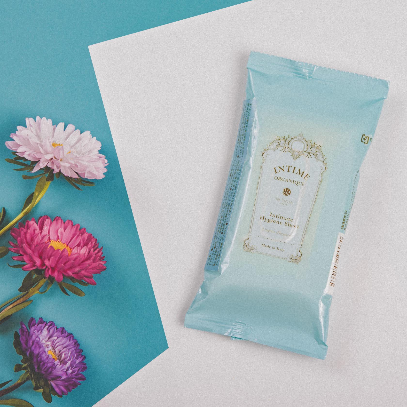 Органические гигиенические салфетки для интимной зоны Hygiene Sheet Intime Organique Япония 12 шт(р) — фото №3