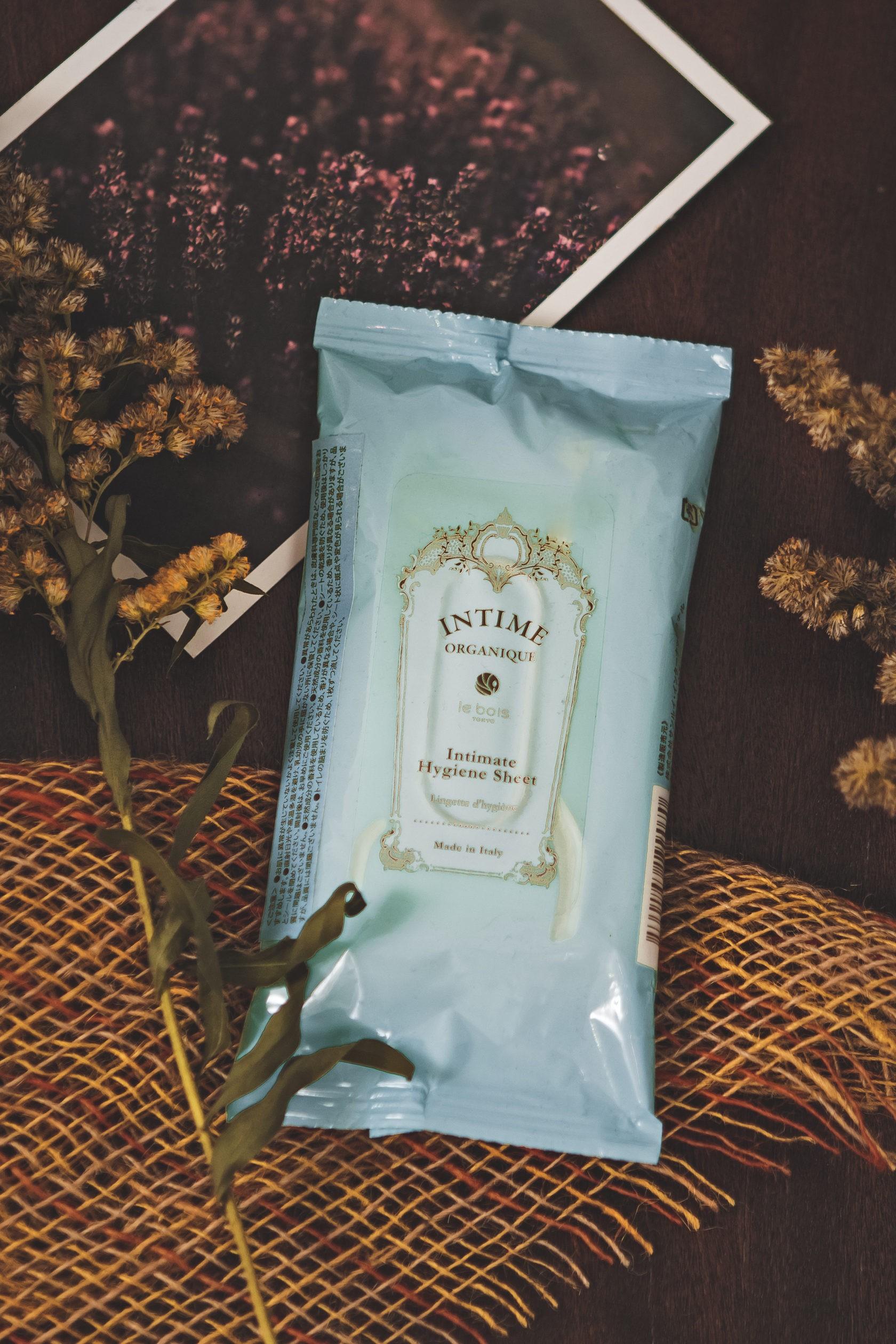 Органические гигиенические салфетки для интимной зоны Hygiene Sheet Intime Organique Япония 12 шт(р) — фото №2