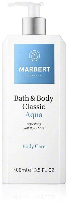 Молочко для тела Bath & Body Classic Aqua Soft Body Milk Marbert Германия 400 мл(р) — фото №1