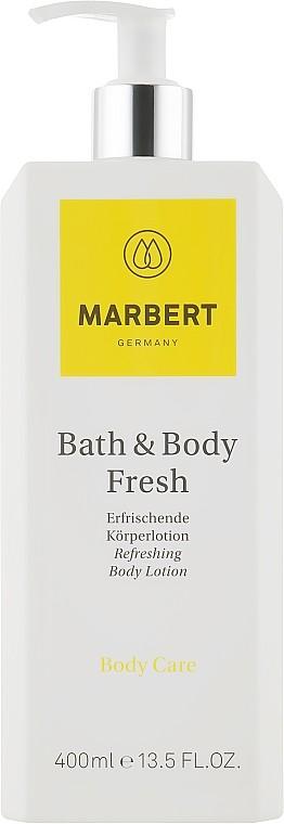 Лосьон для тела Bath & Body Fresh Refreshing Body Lotion Marbert Германия 400 мл(р) — фото №1