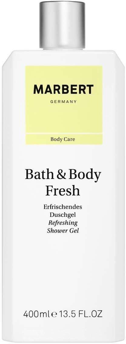 Гель для душа Bath & Body Fresh Refreshing Shower Gel Marbert Германия 400 мл(р) — фото №1