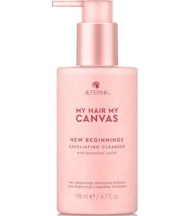 Пилинг My Hair My Canvas New Beginnings Exfoliating Cleanser Alterna USA 198 мл(р) — фото №1