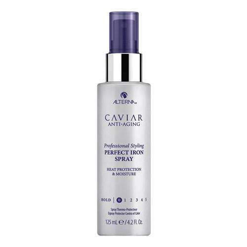 Термозащитный спрей для выпрямления волос Caviar Anti-Aging Perfect Iron Spray Alterna USA 125 мл(р) — фото №1