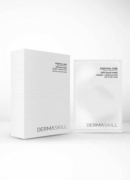 Гидрогелевая маска с коллагеном и гиалуроновой кислотой Soft Touch Mask Dermaskill USA 25 мл(р) — фото №1
