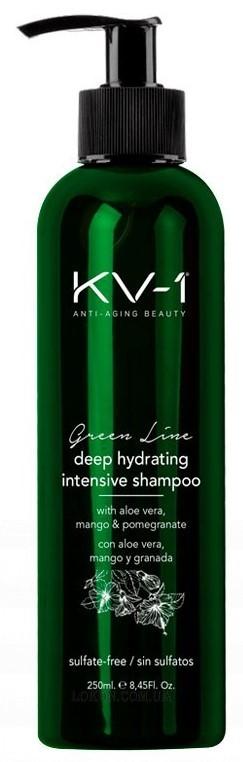 Шампунь интенсивно увлажняющий без сульфатов Deep Hydrating Intensive Shampoo KV-1 Испания 250 мл(р) — фото №1