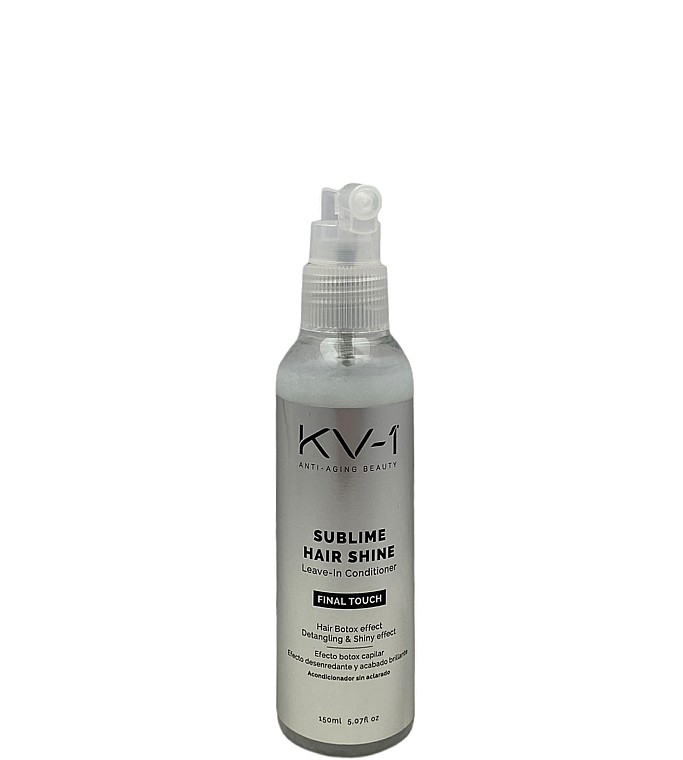 Спрей-кондиционер для волос с эффектом ботокса Final Touch Sublime Hair Shine Leave-In Conditioner KV-1 Испания 150 мл(р) — фото №1