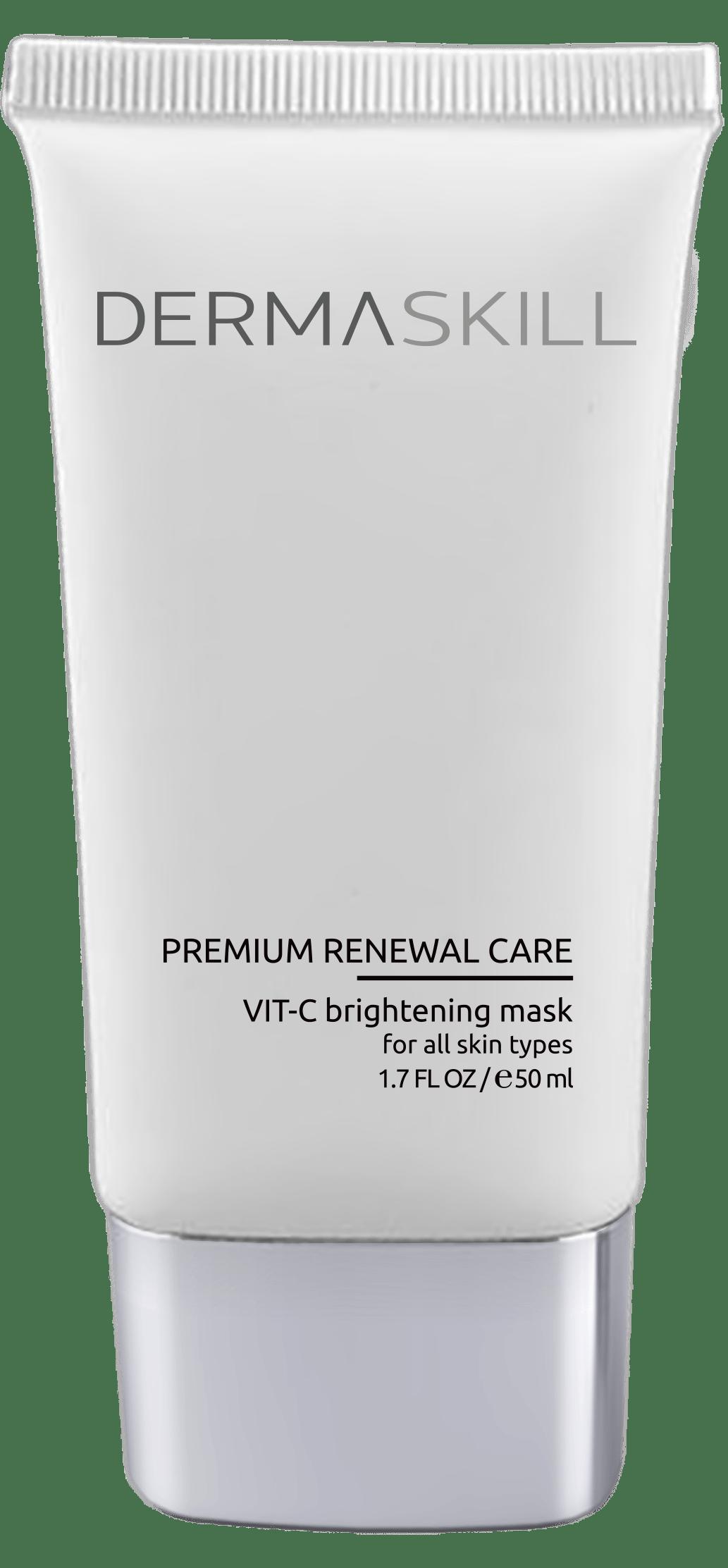 Осветляющая омолаживающая маска C Vit C Brightening Mask Dermaskill USA 50 мл(р) — фото №1