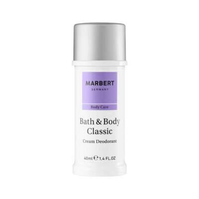 Дезодорант кремовый Bath & Body Classic Cream Deodorant Marbert Германия 40 мл(р) — фото №1