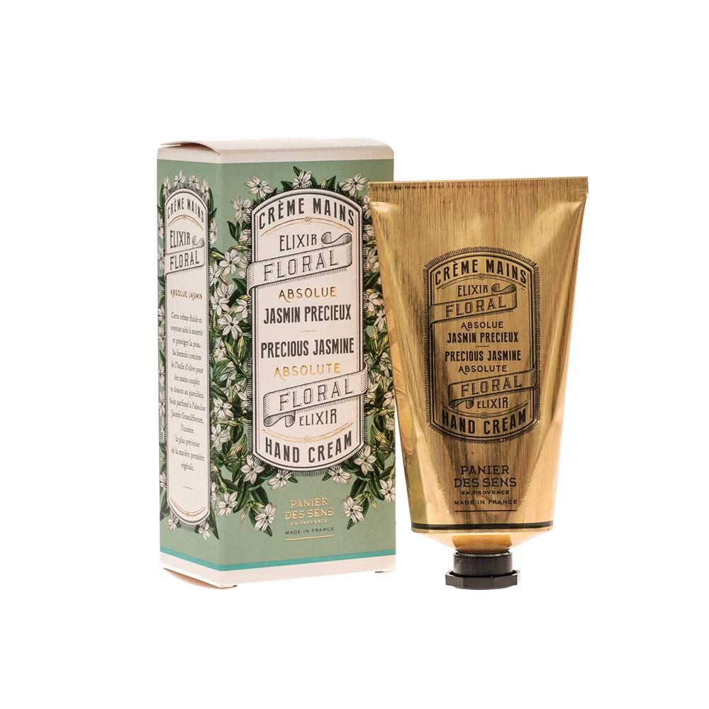 "Крем для рук ""Жасмин"" Precious Jasmine Hand Cream Panier Des Sens Франция 75 мл(р) — фото №1"