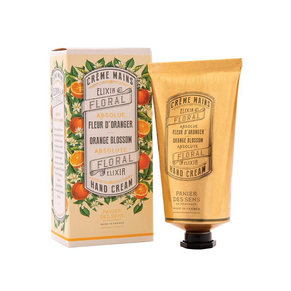 "Крем для рук ""Флердоранж"" Orange Blossom Hand Cream Panier Des Sens Франция 75 мл(р) — фото №1"