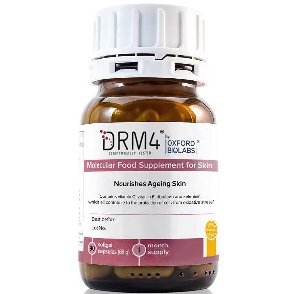 Молекулярная диетическая добавка для улучшения состояния кожи DRM4 Oxford Biolabs Германия 1 уп(р) — фото №1