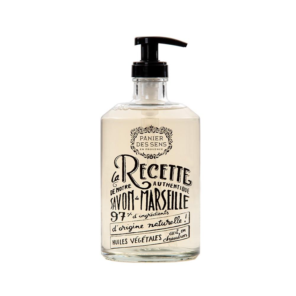 """Марсельское жидкое мыло """"Лаванда"""" Panier Des Sens Франция 500 мл(р) — фото №1"""