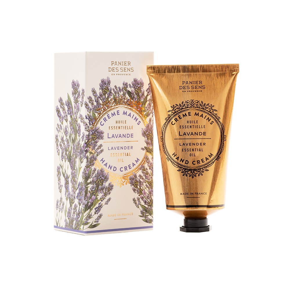 "Крем для рук ""Лаванда"" Lavanda Hand Cream Panier Des Sens Франция 75 мл(р) — фото №1"