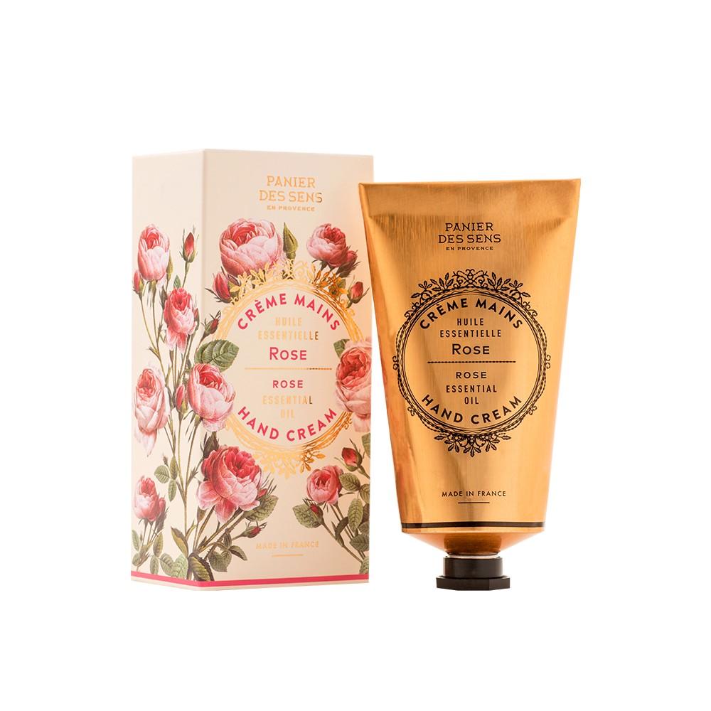 "Крем для рук ""Роза"" Rose Hand Cream Panier Des Sens Франция 75 мл(р) — фото №1"
