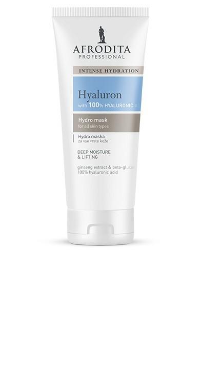 Маска HYALURON  Hydro Face Mask 150 мл Afrodita Словения — фото №1