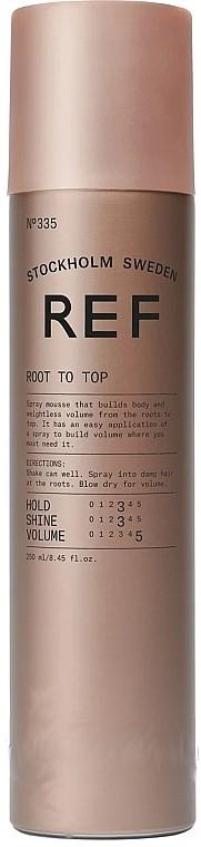 Спрей-мусс для прикорневого объема Root to Top REF Швеция 250 мл(р) — фото №1
