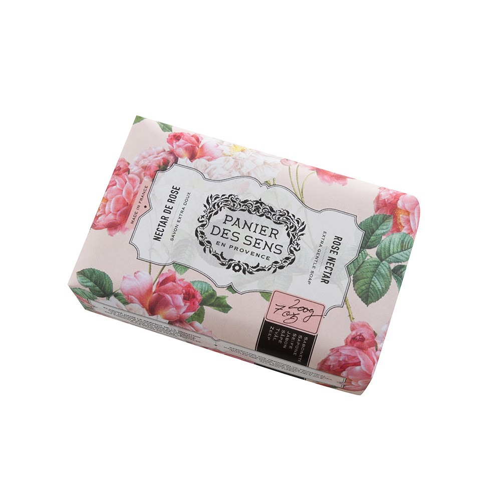 "Экстра-нежное мыло масло ши ""Роза"" Rose Nectar Panier Des Sens Франция 100 г(р) — фото №1"