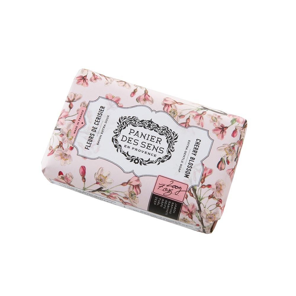 """Экстра-нежное мыло масло ши """"Цветок Вишни"""" Cherry Blossom Panier Des Sens Франция 100 г(р) — фото №1"""