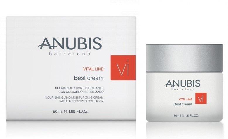 Крем Vital Line Hidroelastin Cream 50 мл ANUBIS Испания — фото №1