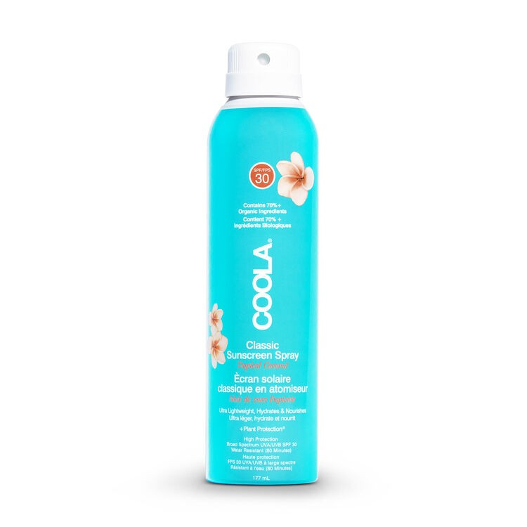 Спрей солнцезащитный Sunscreen Spray Tropical coconut SPF 30 Coola USA 177 мл(р) — фото №1